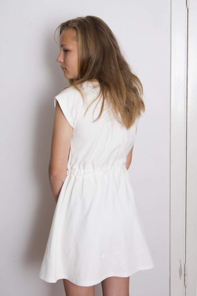 Organic jersey dress