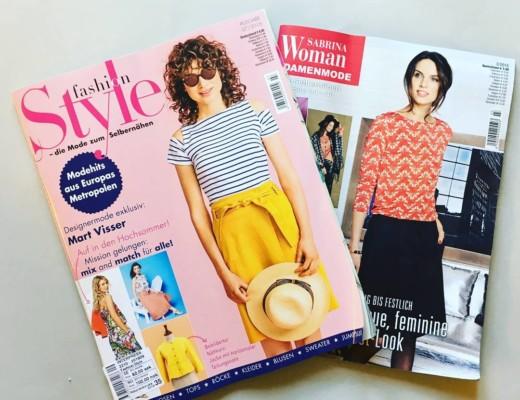 Knip Mode Fashion Style Sabrina Pattern magazine