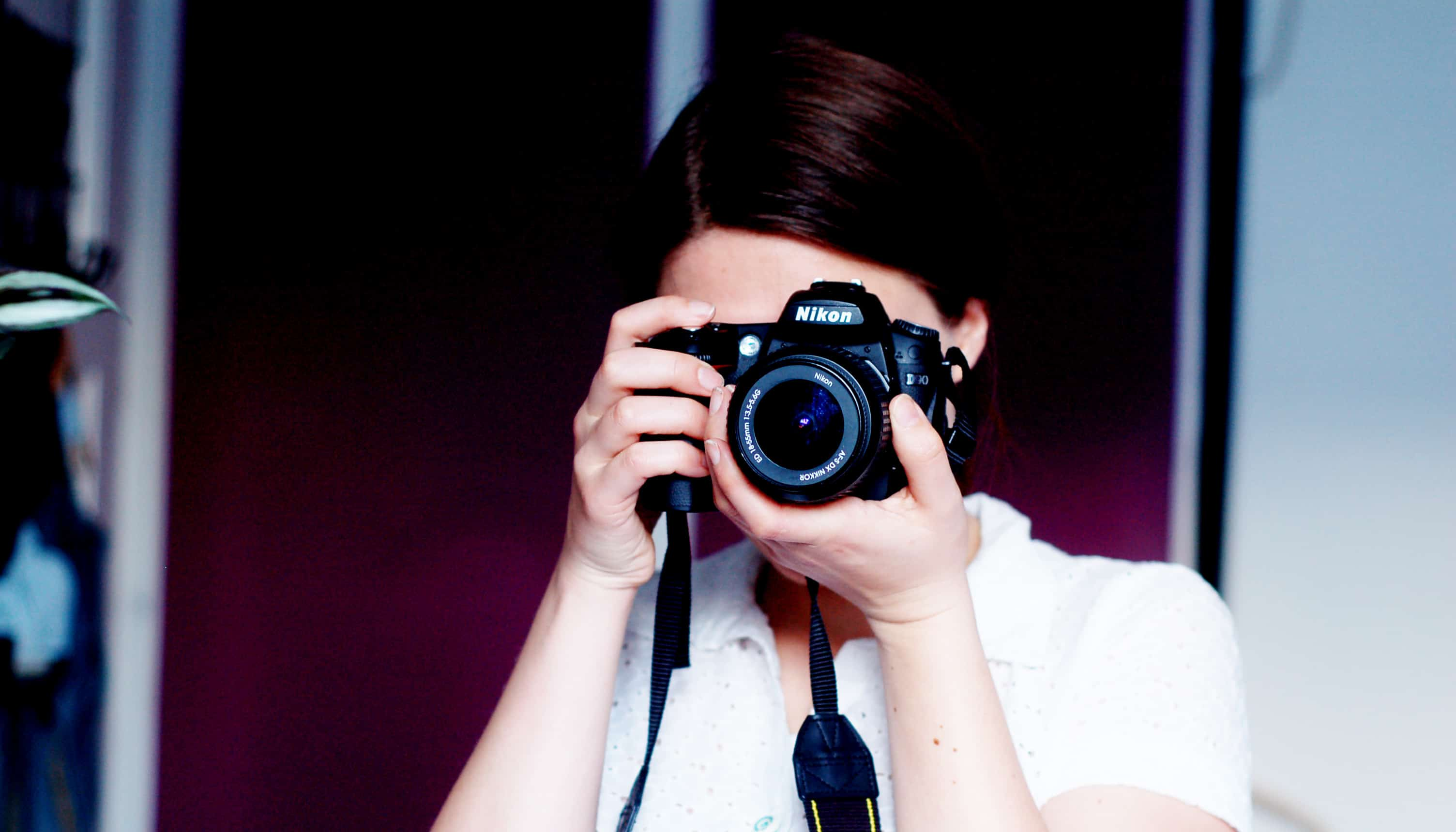 Me taking a photo