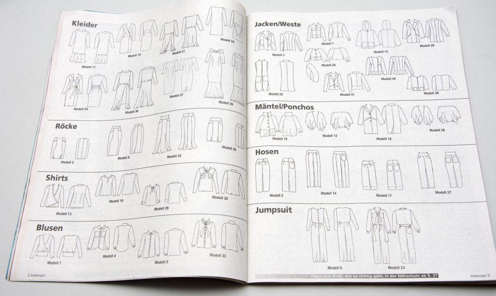 Sabrina German Pattern magazine