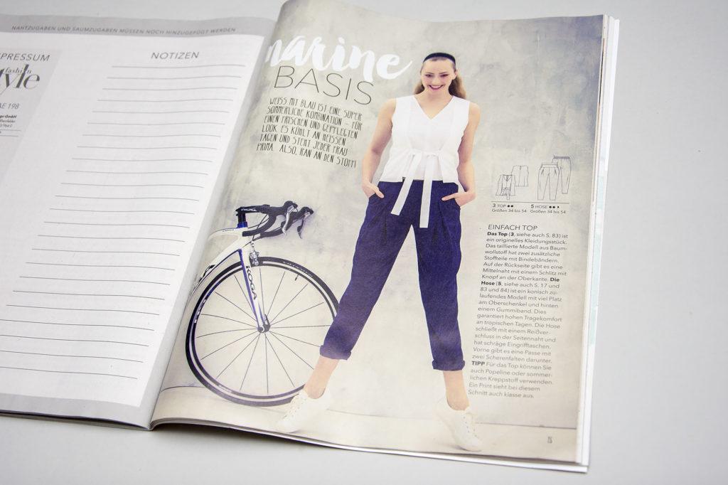 Knip Mode Fashion Style Pattern magazine