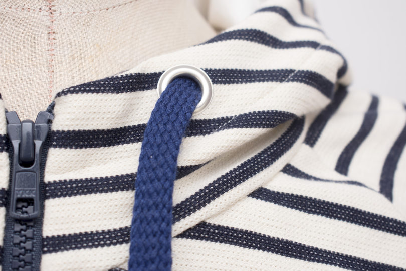 How to add eyelets on knits