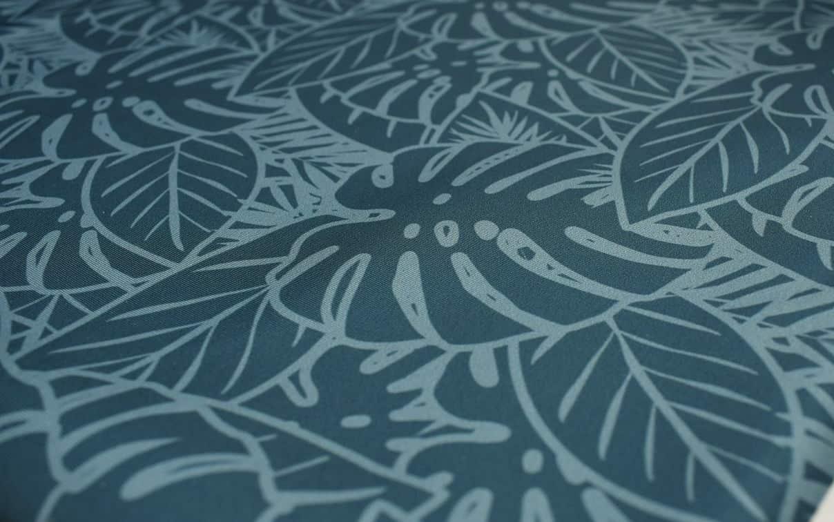 spoonflower-blue-leaves-print