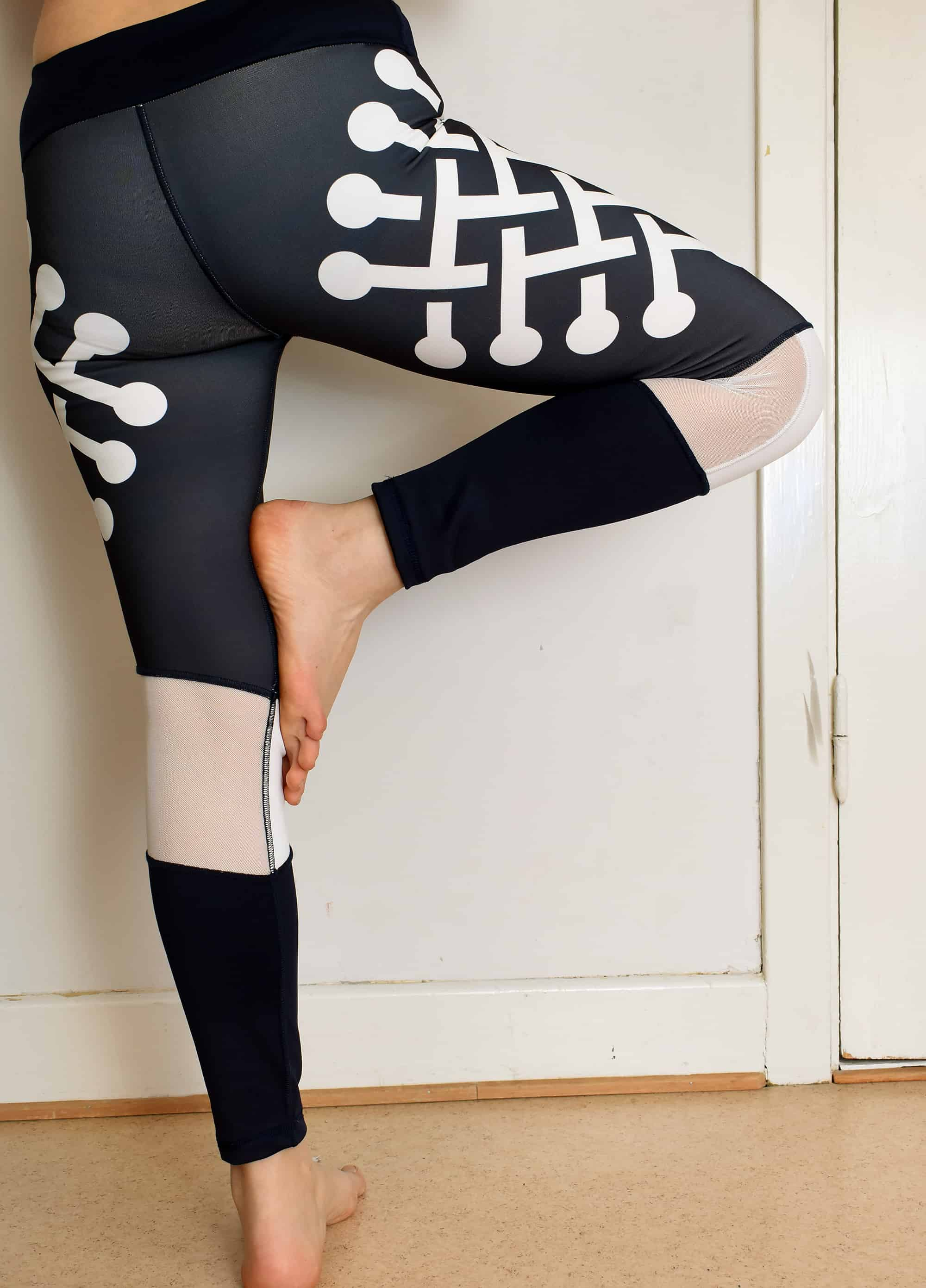 Spoonflower Sloan leggings