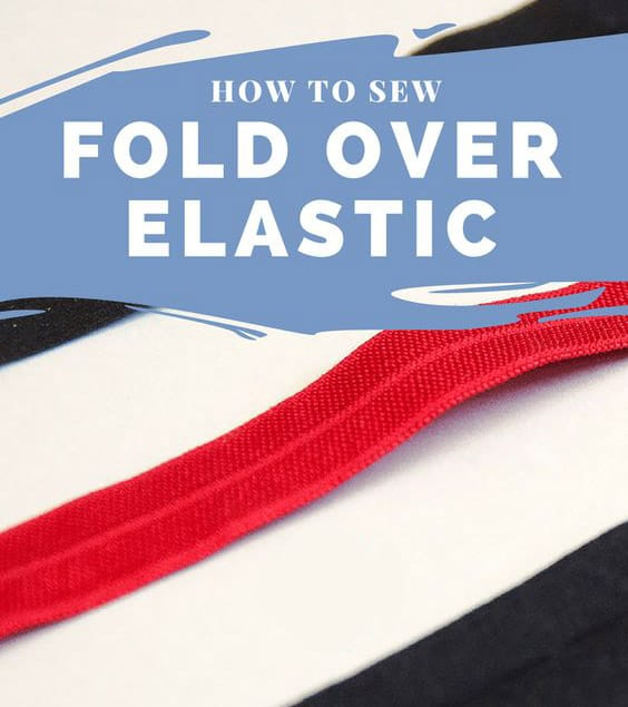 How to sew fold over elastic Sewing Activewear