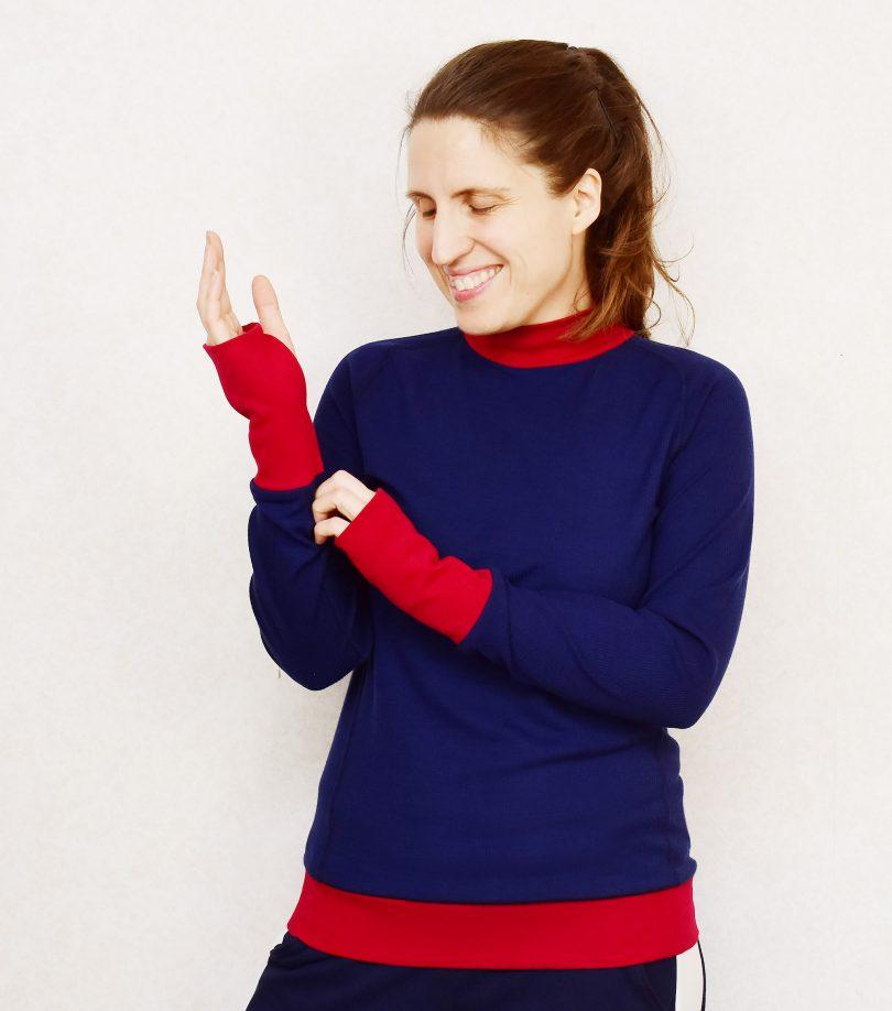 Kwik Sew 3567 Wool Top Last Stitch
