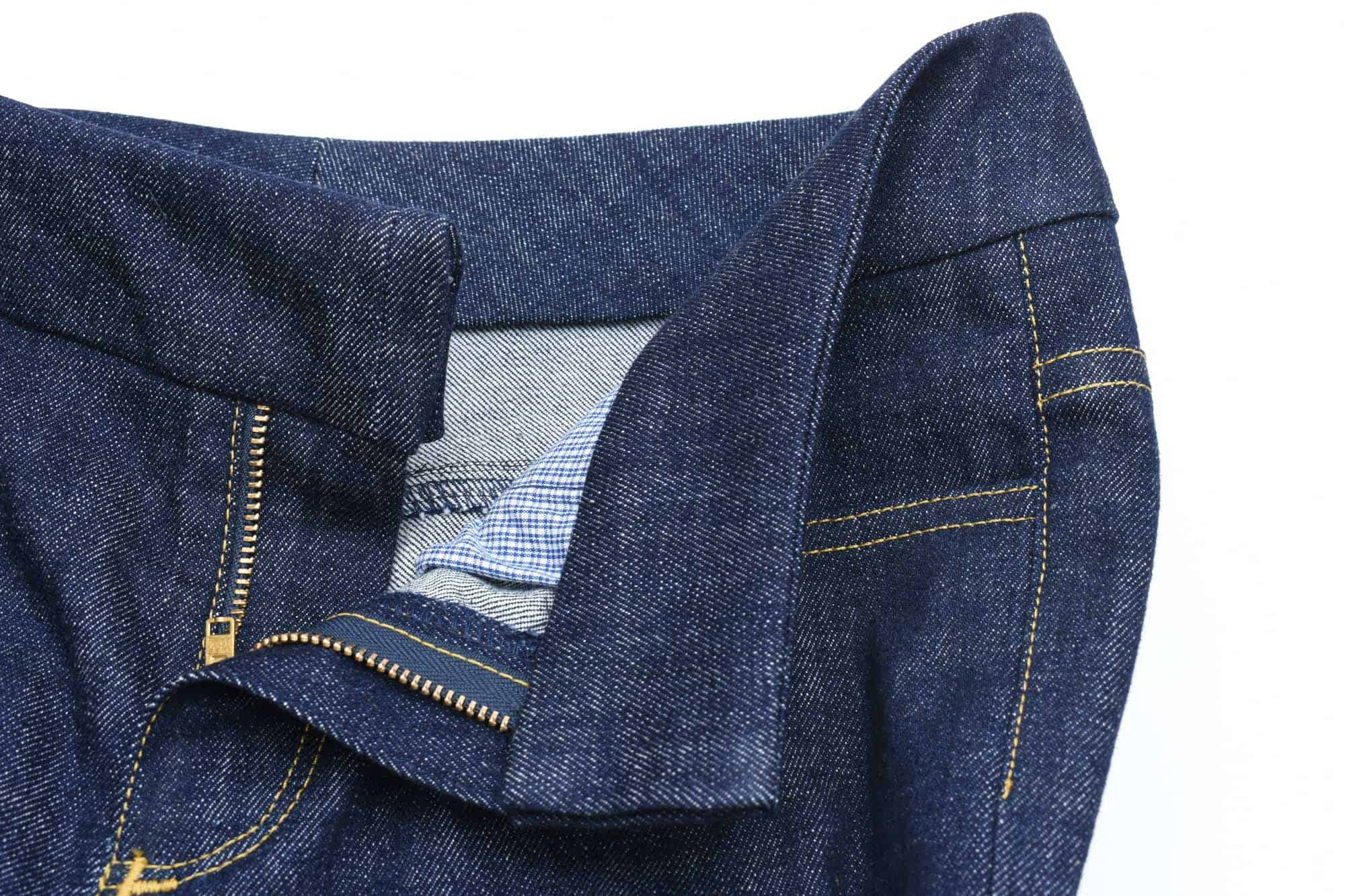 Sewing a jeans waistband tutorial