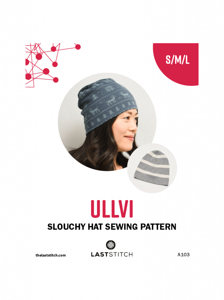 Sewing pattern for knit hats