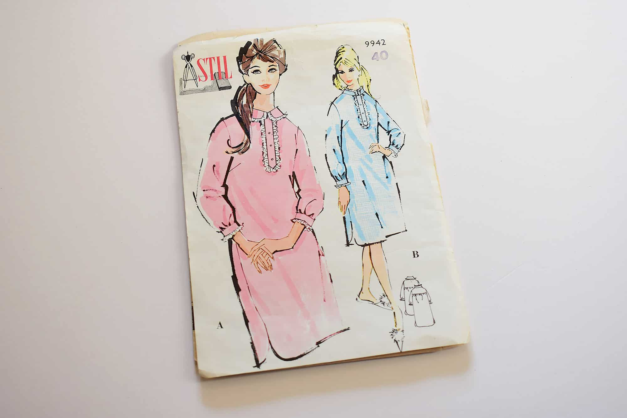 My vintage sewing patterns collection | Last Stitch