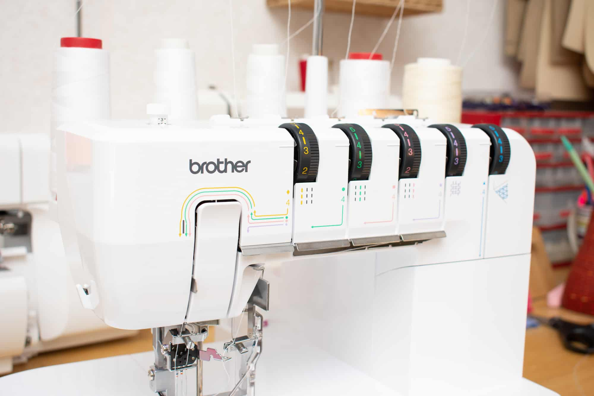 Brother CV3550 Coverstitch review