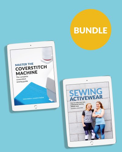 Master the Coverstitch Machine Sewing Activewear Ebook Bundle