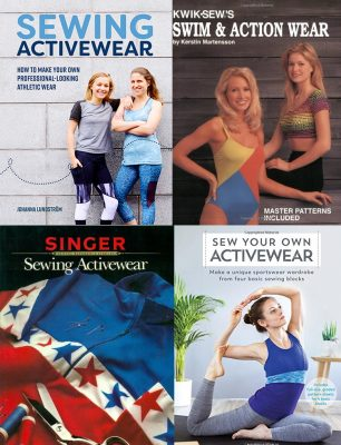books about sewing activewear