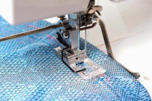 How to secure a coverstitch seam