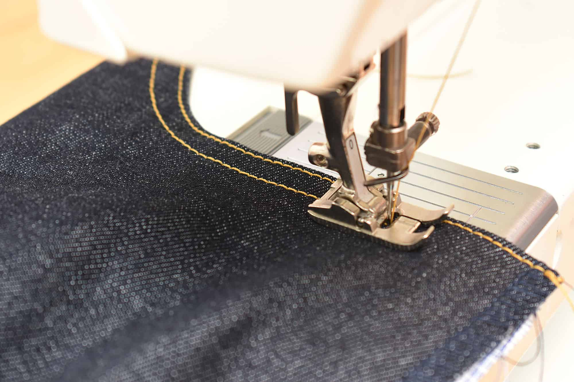 jeans progress report last stitch