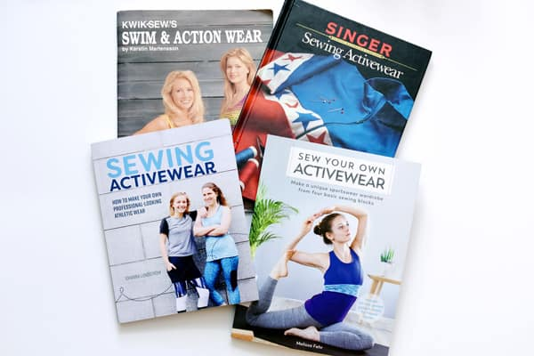 sewing activewear books