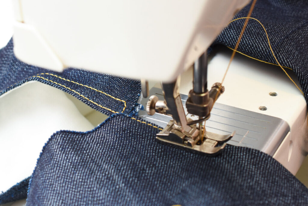 time-saving tips for sewing jeans